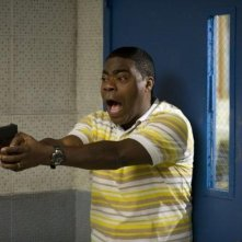 Tracy Morgan in una scena della commedia Cop Out