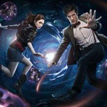 Doctor Who: una prima immagine promozionale della stagione 5 con Matt Smith e la nuova compagna Karen Gillan