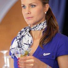 L'hostess Serena (Josie Davis) sull'aereo nell'episodio Chuck Vs. First Class