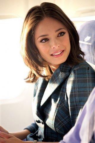 La bellissima Kristin Kreuk è Hannah nell'episodio Chuck Vs. First Class