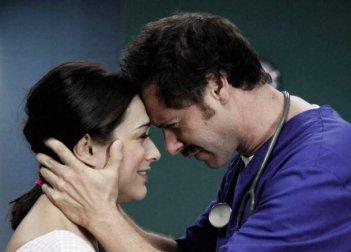 Valentina Lodovini e Pietro Sermonti in una scena di Boris 3