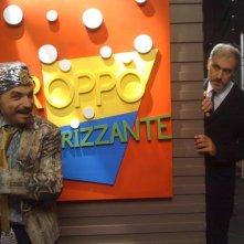 Fabrizio Buompastore in una scena di Boris 3