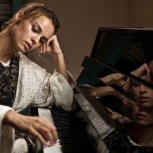 Kasia Smutniak in un'immagine del film La passione
