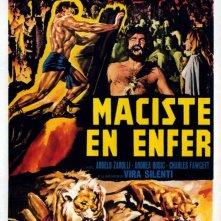 Locandina francese del film Maciste all\'inferno ( 1962 )