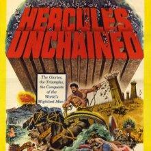 Locandina statunitense del film Ercole e la regina di Lidia (1959)