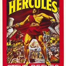 Locandina statunitense del film Le fatiche di Ercole (1958)