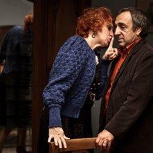 Maria Paiato e Silvio Orlando in un'immagine del film La passione