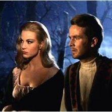 Massimo Righi e Susy Andersen in una scena dell\'episodio I Wurdalak del film I tre volti della paura