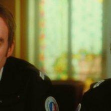 Mathieu Amalric e Michel Vuillermoz in una scena del film Gli amori folli