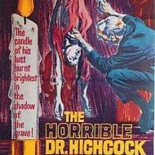 Poster del film L\'orribile segreto del dottor Hichcock, del 1962