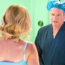 Robin Williams in un'immagine della commedia Daddy Sitter