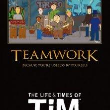 Un poster della stagione 2 della serie animata The Life & Times of Tim