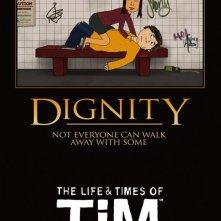 Uno dei poster della stagione 2 della serie animata The Life & Times of Tim