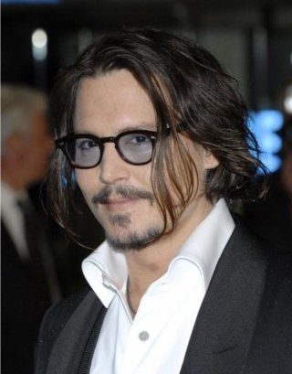 Johnny Depp alla Royal World Premiere di Alice in Wonderland a Londra