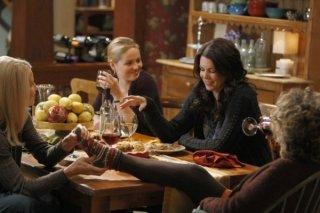 Monica Potter, Erika Christensen, Lauren Graham e Bonnie Bedelia nel pilot di Parenthood