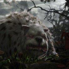 Una terribile e spaventosa creatura di Alice in Wonderland