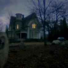 L\'inquietante villa del film Quella villa accanto al cimitero (1981)