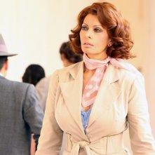 Sophia Loren nella fiction La mia casa è piena di specchi