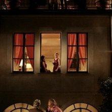 Un'immagine surreale tratta da Happy Family, commedia diretta da Gabriele Salvatores