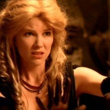"Alexandra Tydings in una scena del telefilm ""Xena\"", nell\'episodio \""Motherhood\"""