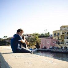 Dario Castiglio sull'isola di Ventotene nel film Sul mare