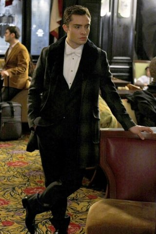 Ed Westwick interpreta Chuck Bass nell'episodio The Hurt Locket di Gossip Girl