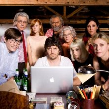 Il cast completo di Happy Family: Gianmaria Biancuzzi, Fabio De Luigi, Alice Croci, Margherita Buy,Fabrizio Bentivoglio, Valeria Bilello, Diego Abatantuono, Corinna Agustoni e Carla Signoris