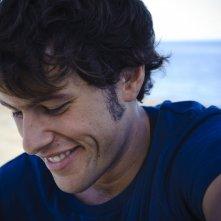 Primo piano di Dario Castiglio dal film Sul mare