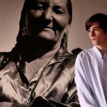 Un'immagine del giovane Gianmaria Biancuzzi dal film Happy Family