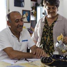 Vincenzo Merolla e Nunzia Schiano in un'immagine del film Sul mare
