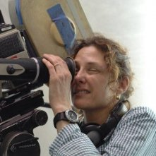La regista Rebecca Miller sul set di The Private Lives of Pippa Lee