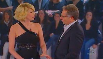 Grande Fratello 10, la Finale: Paolo Bonolis e Alessia Marcuzzi.