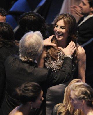 Oscar 2010, James Cameron scherza con la sua ex-moglie, Kathryn Bigelow