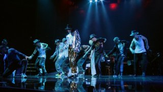 Una scena tratta dal blu-ray di This is it