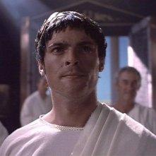 Karl Urban in una scena di Xena nell\'episodio The Ides of March