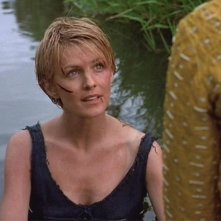 Kathryn Morris in una scena di Xena nell\'episodio The convert
