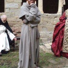 Braidotti sul set del film dedicato a Giovanni Duns Scoto