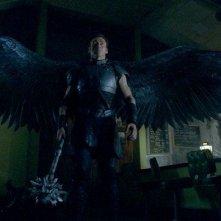Un'immagine dell'arcangelo Gabriele (Kevin Durand) dal film Legion
