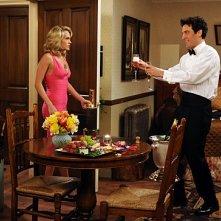 Carrie Underwood e Josh Radnor in una scena dell'episodio Hooked di How I Met Your Mother