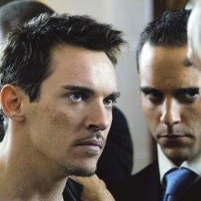 Jonathan Rhys Meyers, nella parte di un duro nel film From Paris with Love