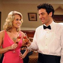 La guest star Carrie Underwood e Josh Radnor in una scena dell'episodio Hooked di How I Met Your Mother