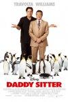 La locandina italiana di Daddy Sitter