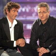 Paolo Bonolis con Luca Laurenti