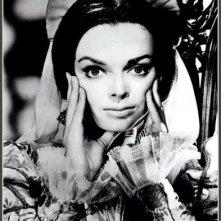 Barbara Steele in una immagine promozionale del film Il pozzo e il pendolo (1961)