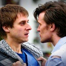 Doctor Who: Matt Smith in una scena dell'episodio The Eleventh Hour, primo della stagione 5 della serie