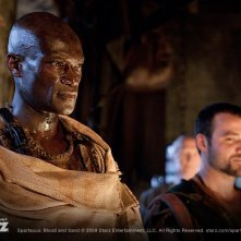 Una scena dell'episodio Delicate Things di Spartacus: Blood and Sand