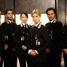 Il cast di R.I.S. Roma