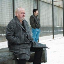 Niels Arestrup e Tahar Rahim in una scena del film Il profeta (2009)