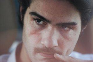 Primo piano di Tahar Rahim dal film Il profeta (2009)