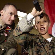 Ben Temple e Fergus Riordan in una scena di I want to be a soldier